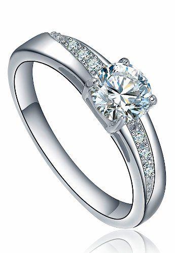 AI Stainless Steel Jewelry Damen-Solitär-Ring Edelstahl runde Cubic Zirkonia Silberfarben Arco Iris Schmuck http://www.amazon.de/dp/B00EW4BKWM/ref=cm_sw_r_pi_dp_5sA0vb18WDK6S