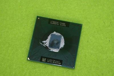 Intel Core Duo SL8VQ T2400 LF80539GF0342M BX80539T2400 Socket M
