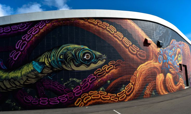 ENG – PangeaSeed's Sea Walls: Murals for Oceans (New Zealand)