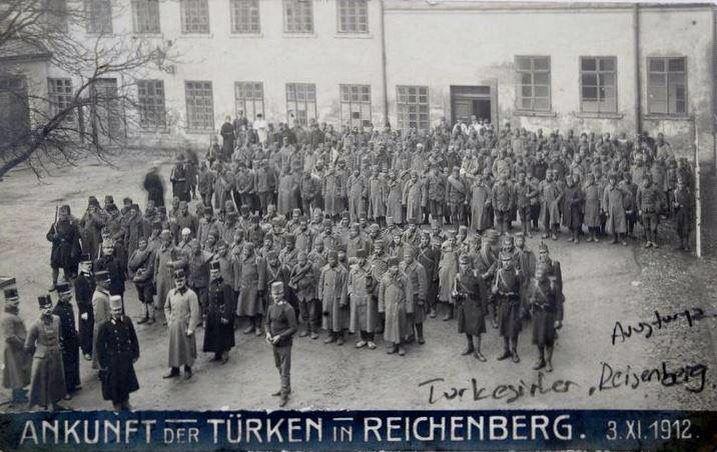 Balkan Savaşı sonrasında Avusturya'ya Teslim Edilen Türk Esirleri
