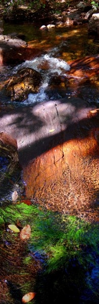 Shadow Creek - 125x51cm Pigment ink on photographic paper. Richard Morecroft, Bungendore Wood Works Gallery 2012-13