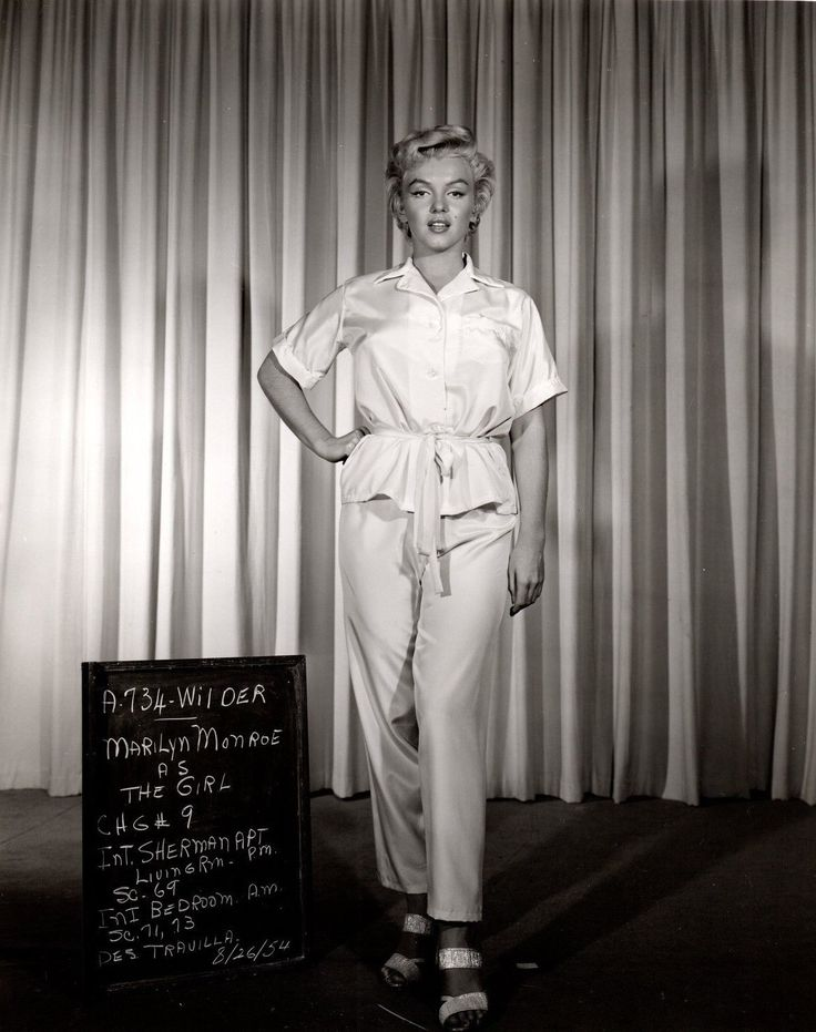 "Marilyn Monroe Video Archives — Rare Marilyn Monroe costume test for ""The 7 Year..."