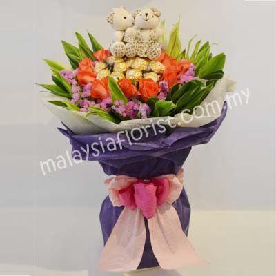 - Bagan Serai Flower Shop   Malaysia Florist Send Valentines Flowers, Hand Bouquet, All Occasion Flowers, Fruits & Flowers, Flower Basket, Wreath, Congratulatory Flowers - Malaysia Florist & Flower Shop (Kedai Bunga Malaysia)