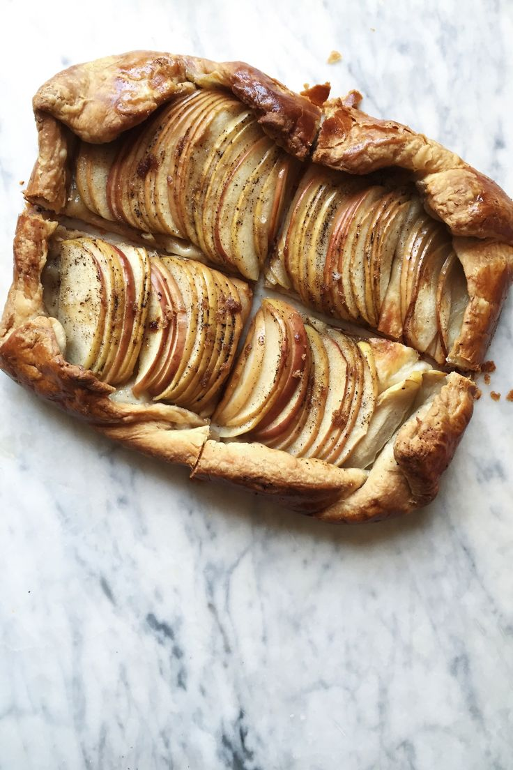 Browned Butter Apple Tart   for the love of the south