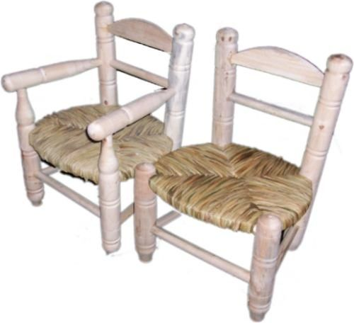 Baños Ninos Dimensiones:sillita y silloncito de niños de junco