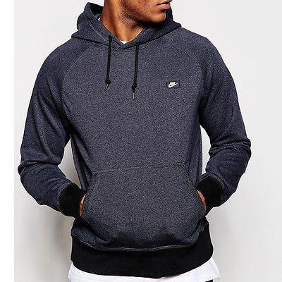Nike herren jacke aw77 french terry hoodie