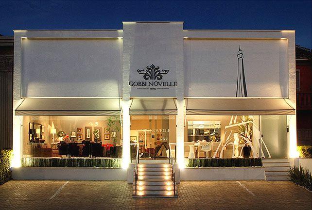 Fachada loja pesquisa google home pinterest for Casa moderna restaurante salta