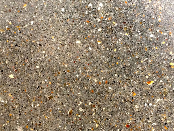 Standard Grey Concrete Semi Ground Back To Expose Fine Aggregate. Polished  And Sealed Concrete.