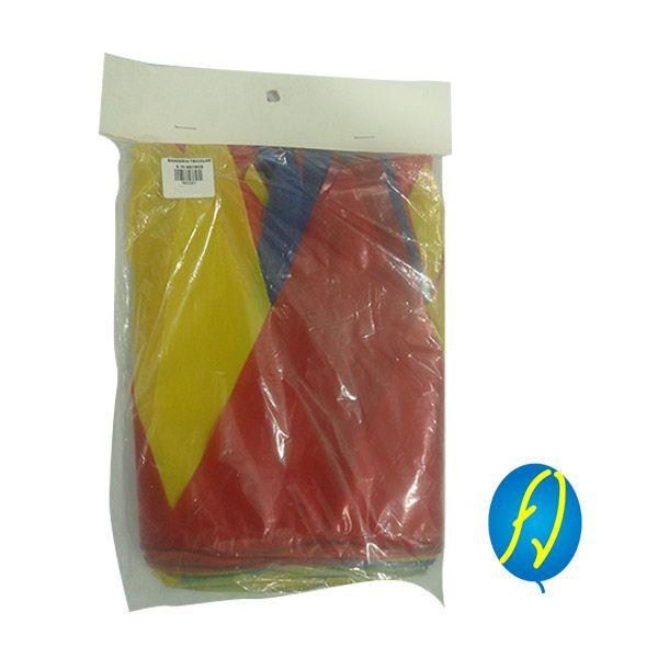 BANDERIN COLOMBIA X10 MTS, un producto más de Piñatería Fiesta Virtual de Colombia - lo puedes ver en http://bit.ly/21d6OIh. #FiestaVirtual