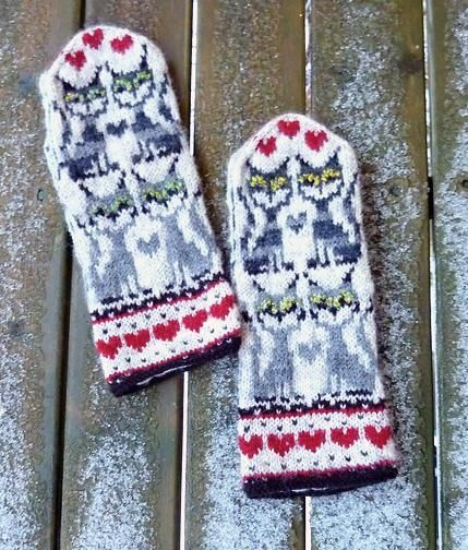 Looking for your next project? You're going to love KisKis 4 Mittens by designer Kulabra Designs.