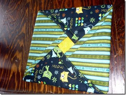 """You are in for a treat this morning…Delores brought some 9"""" scraps to Quilting last Monday and gave us a little tutorial…and lucky you..YOU ..."""