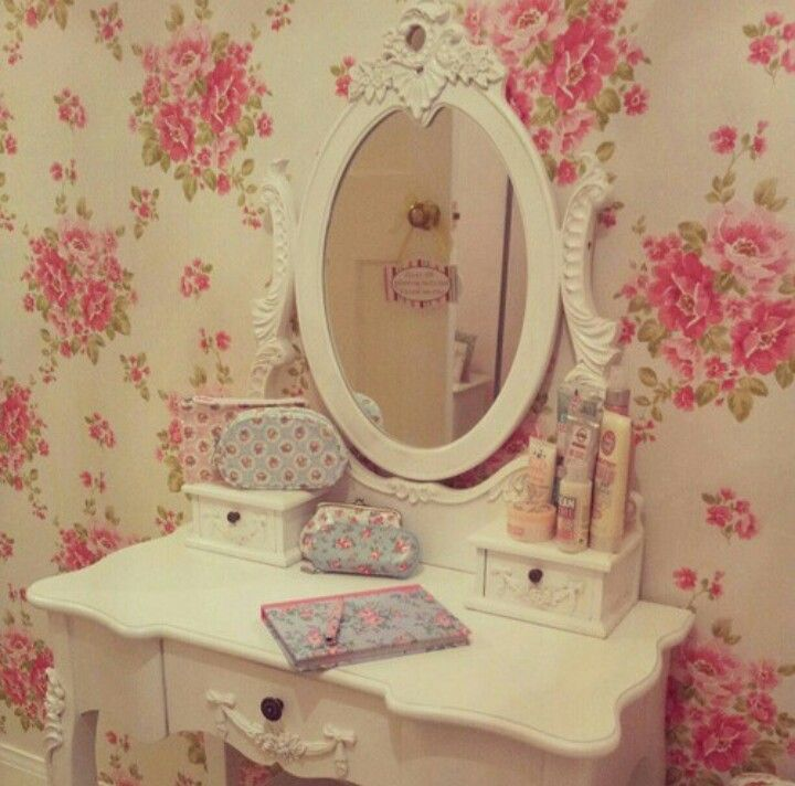 I Want A Vanity Like This Shabby Chic VanityShabby DecorRomantic