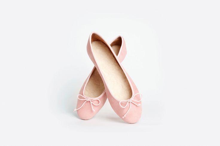 Flattered Ballerina shoe in pink