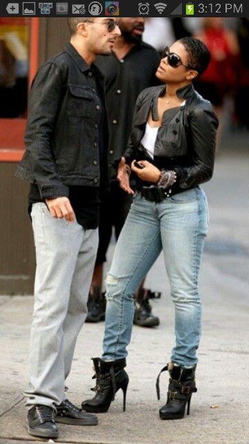 Janet Jackson and husband.