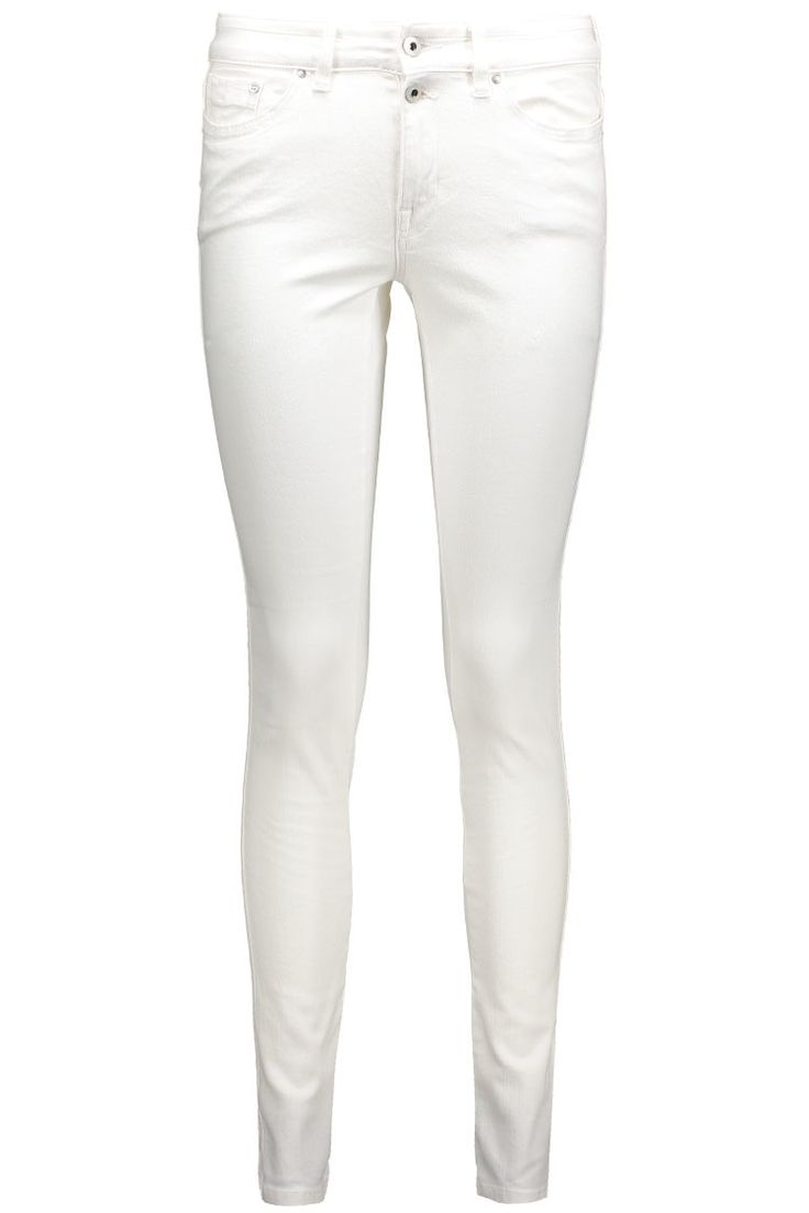 Deze mooie witte broek van EDC by Esprit vind je nu in de uitverkoop via Aldoor! #mode #dames #broek #zomer #wit #women #fashion #jeans #white #trousers #sale