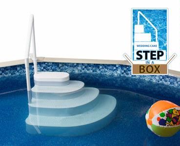 The NEW Wedding Cake Step In A Box Pool Step Looking to purchase a ladder online…
