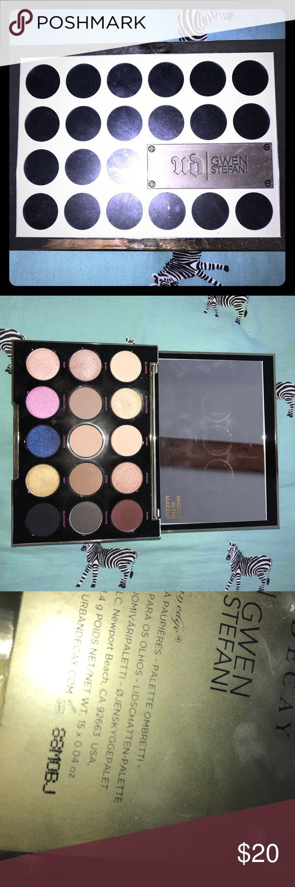 Urban Decay Gwen Stefani Pictures show the obvious Urban Decay Makeup