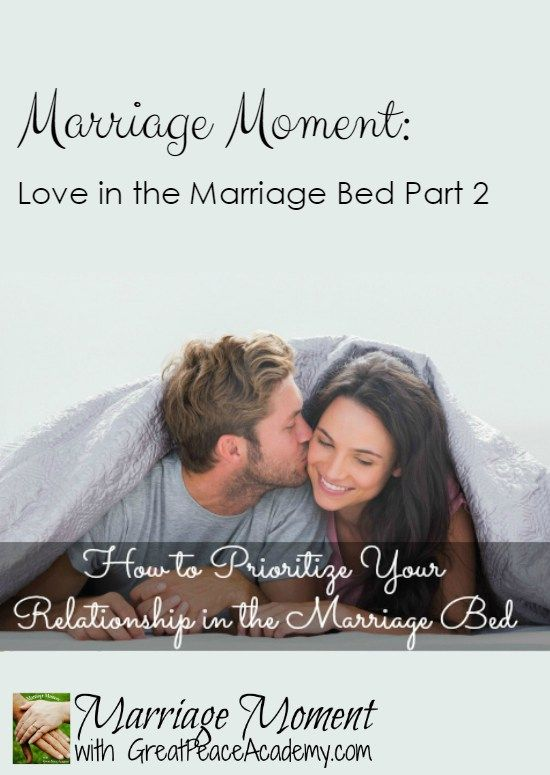 How to Prioritize the Marriage Bed in Your Relationship