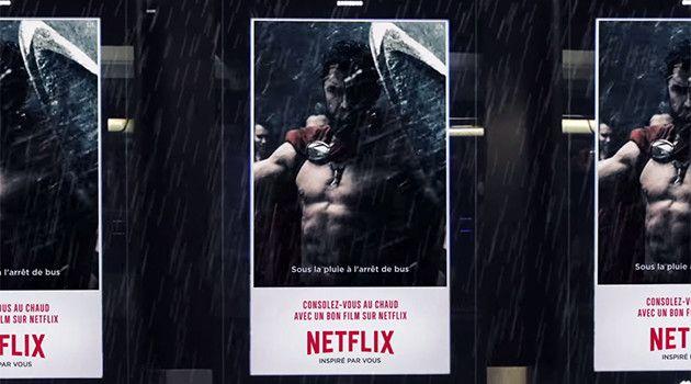 Netflix crea la primera campaña de Publicidad Exterior con GIFs