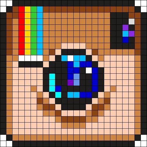 Instagram Logo Perler Bead Pattern / Bead Sprite