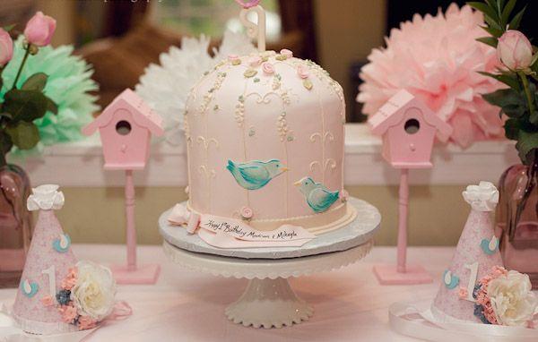 Kuş Temalı Doğum Günü Partisi