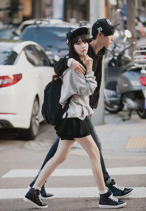 KOREAN FASHION |  couple outfits ヾ(@⌒ー⌒@)ノ