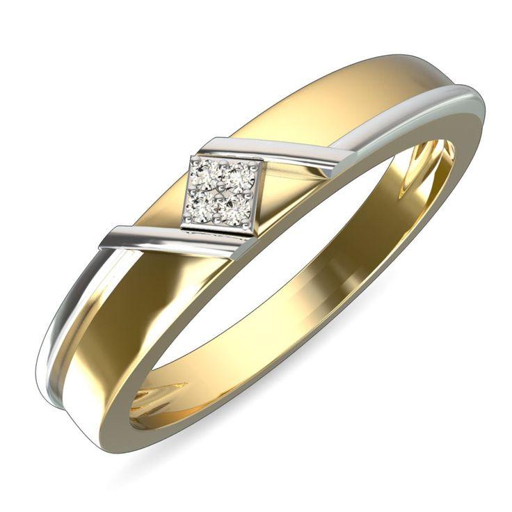 Eye catching diamond encrusted gold ring