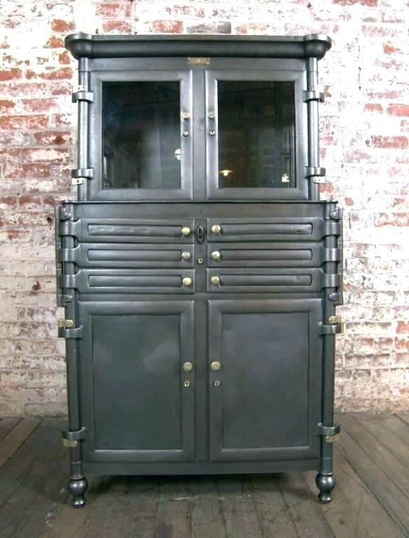 Antique Dental Cabinets Vintage Dental Cabinet Vintage Dental Cabinet Vintage Metal Cabinets With Glass Doo Glass Cabinet Doors Cabinet Door Designs Glass Door