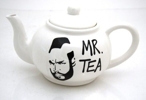 Ha, Mr. Tea... priceless.