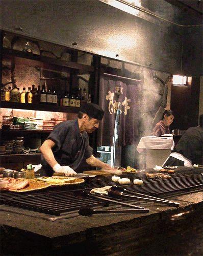 Robata-yaki (炉端焼き)