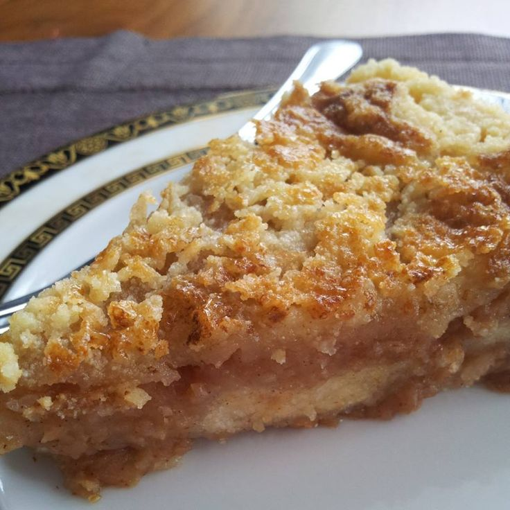 Szarlotka sypana / Quick apple pie