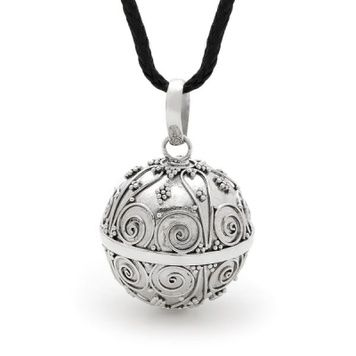 Harmony Ball - LABYRINTH - Bella Donna Sterling Silver