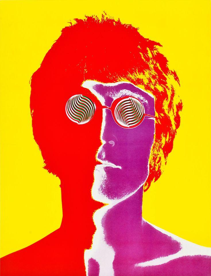John Lennon1967 Photographer ByRichard Avedonfor Look Magazine.