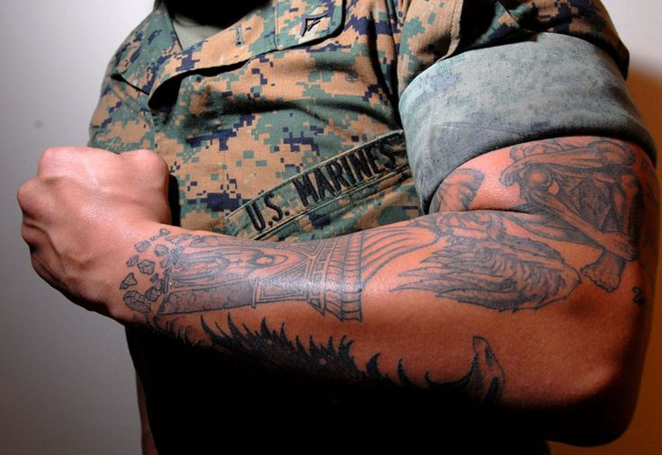 #Combat #vets say #tattoo policy is big barrier to re-enlistment...