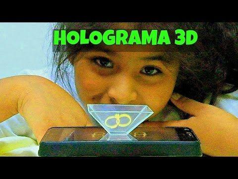 HOLOGRAMA CASERO CON CELULAR o MOVIL 3D CON CD Muy Facil De Hacer Manualidades Faciles como hacer un #holograma casero con #cd utiliza tus #discos que no uses para hacer este #bonito holograma en #casa.