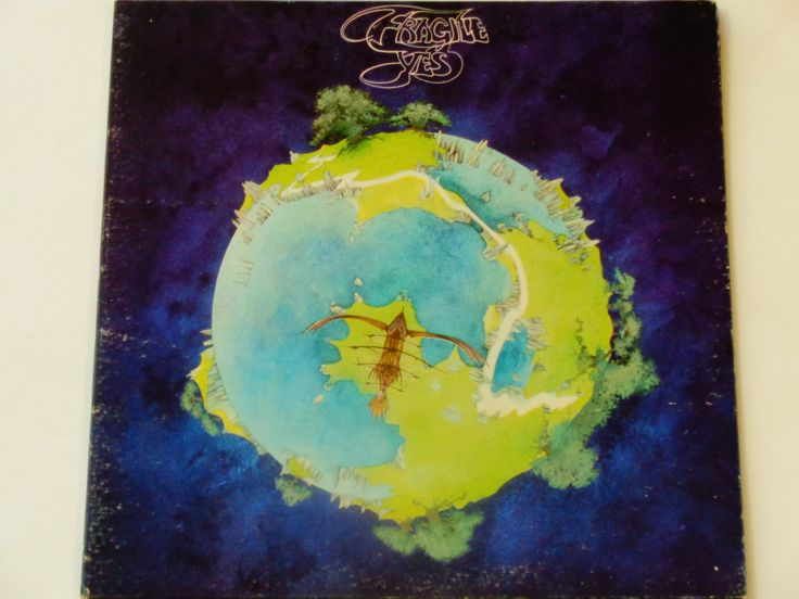 "Yes - Fragile - ""Roundabout"" - ""Long Distance Runaround"" - Prog Rock - Atlantic Records 1972 - Vintage Gatefold Vinyl LP Record Album"