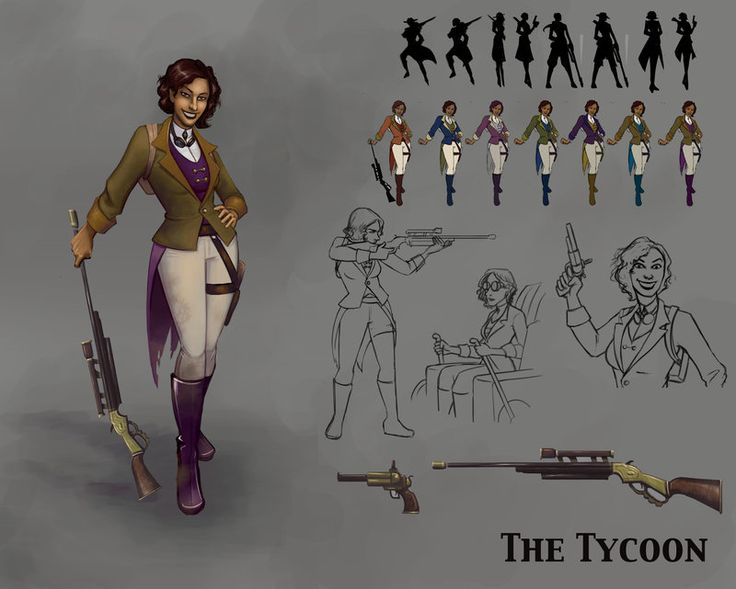 Concept Character Design Brief : Character design the tycoon by kcgarza characters