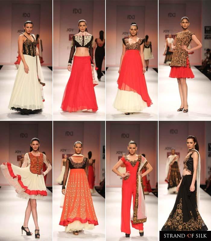 Indian Fashion - Indian Designer - Indian Fashion Week Spring Summer 2013 - Joy Mitra