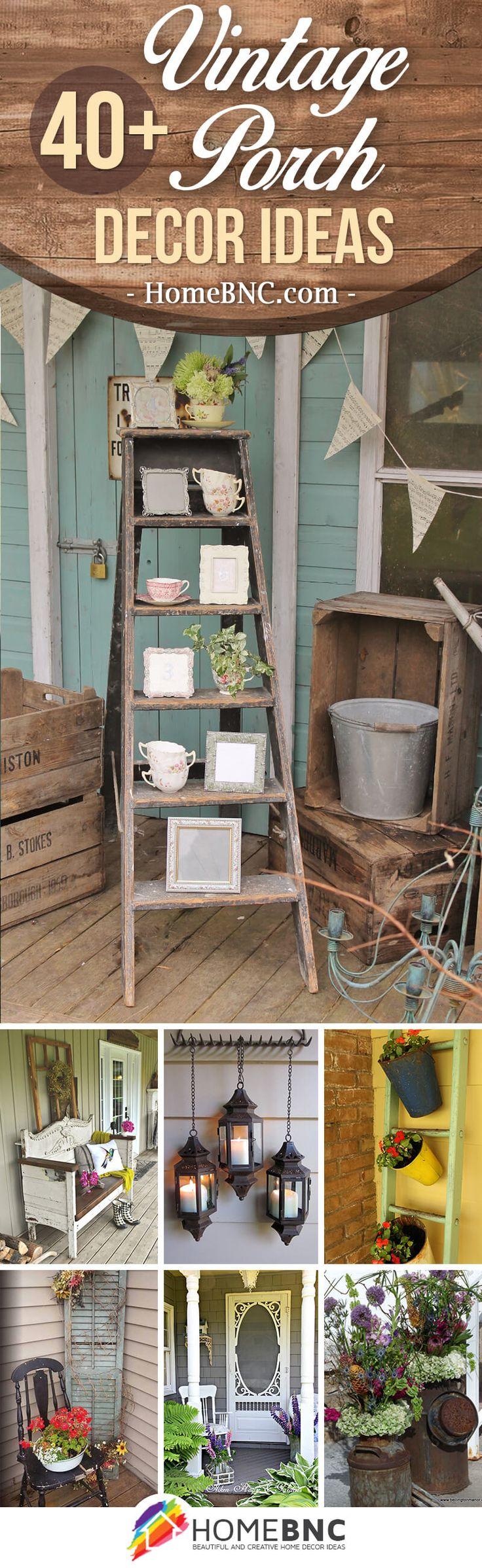 40 rustic vintage porch decor ideas to bring warmth to your homeu0027s exterior vintage porch designs