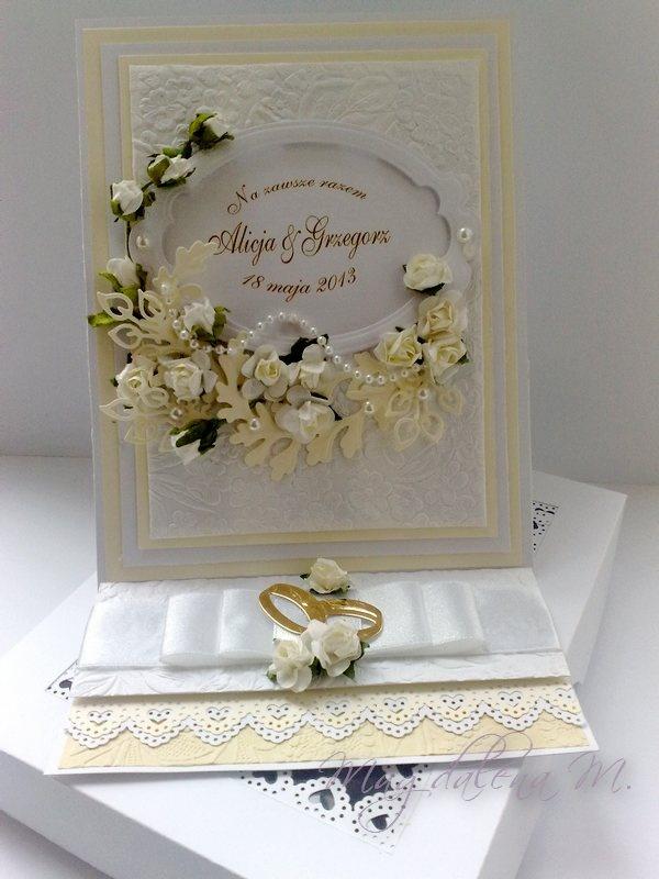 Ślubna / Wedding Card