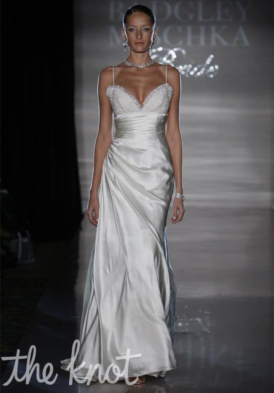 Badgley Mischka Bride Elise Sheath Wedding Dress