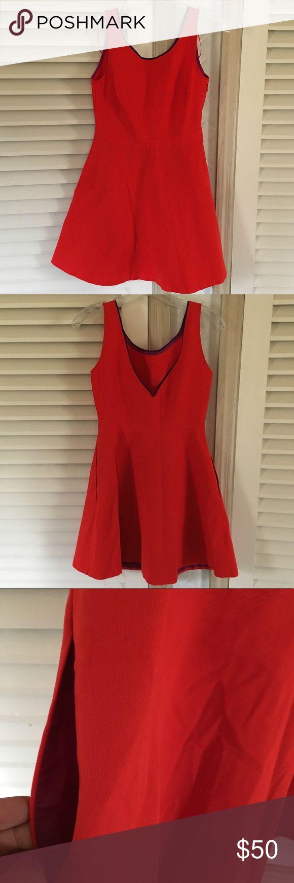 Zara red dress Sorry no trades Zara Dresses