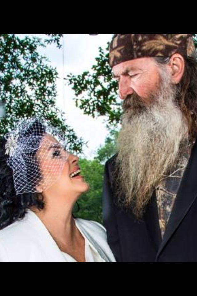 Ms Kay & Phil of Duck Dynasty!  My favorite episode was the wedding renewal!!!!