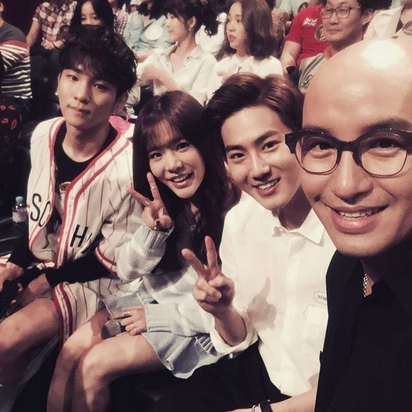 """SHINee's Key, Girls' Generation's Sunny, EXO's Suho, and More Film BoA's Episode of """"Hidden Singer"""""""