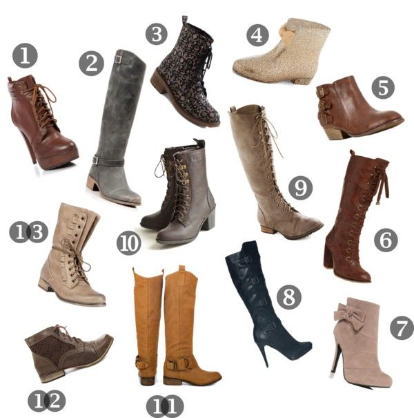 13 Pairs of Super Cute Winter Boots (+ promo codes for Steve Madden, Betsey Johnson, ModCloth & others)