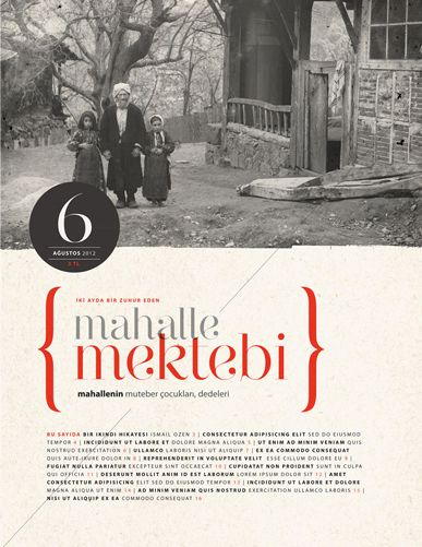 Old school style, could work on web? // Literature Magazine Layout Designs by Harun Tan, via Behance