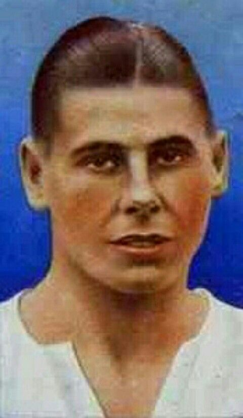 Ray Westwood of Bolton Wanderers & England in 1936.