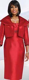 Chancelle 40504 Ladies Wide Wing Collar Jacket & Dress Set