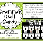 Are you an ELL teacher? SEI? Then, you need these Grammar Wall Cards!In this pack, you will have everything you need for the perfect grammar wall....