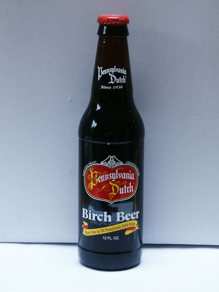 Pennsylvania Dutch Birch Beer. So good! Another thing of joy to move to Pennsylvania.